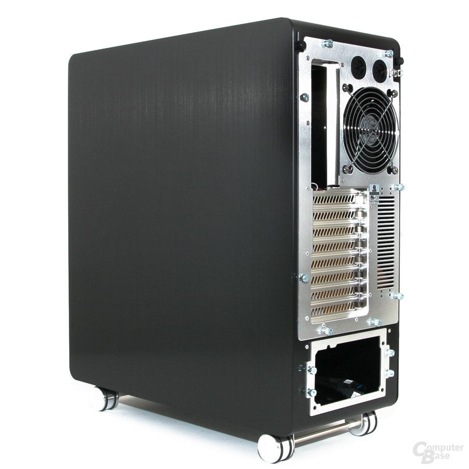 Lian Li PC-V1020B – Rückseite rechts