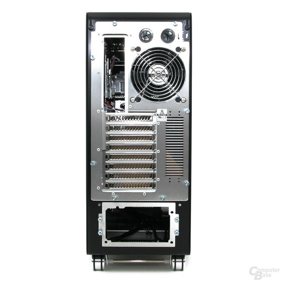 Lian Li PC-V1020B – Rückseite
