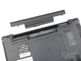 Acer Aspire Timeline X 5820TG: Akku