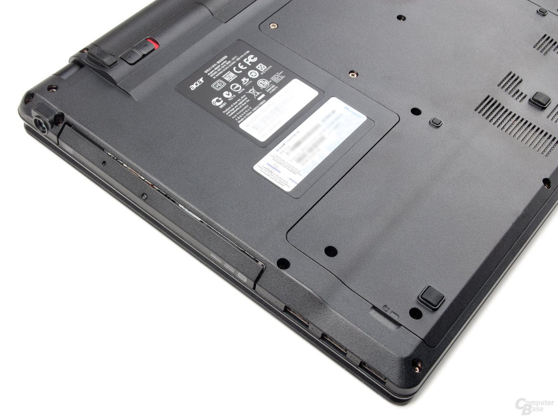 Acer Aspire Timeline X 5820TG: Unterseite