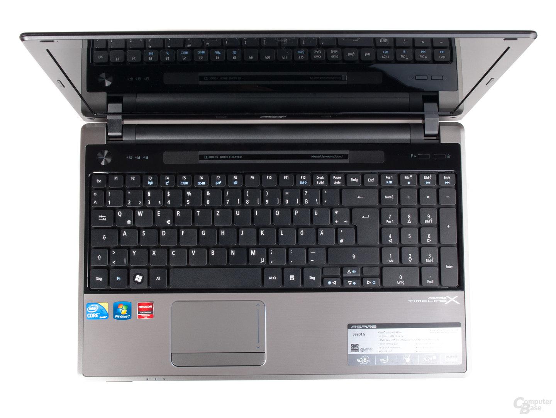 Acer Aspire Timeline X 5820TG: Tastatur