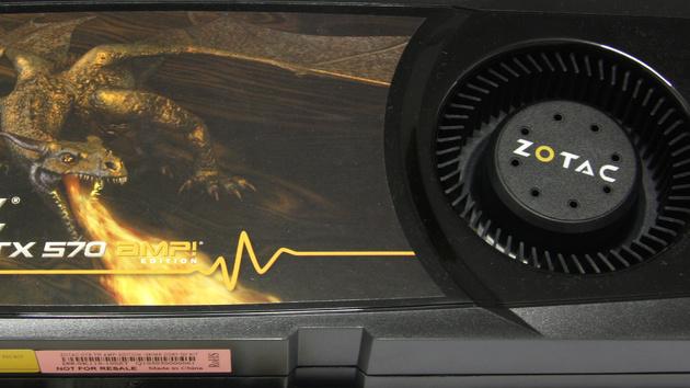 GeForce GTX 570 AMP! im Test: Zotac Beste ist kaum besser als der Standard