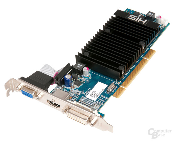 HIS 5450 Silence 512 MB DDR3 PCI