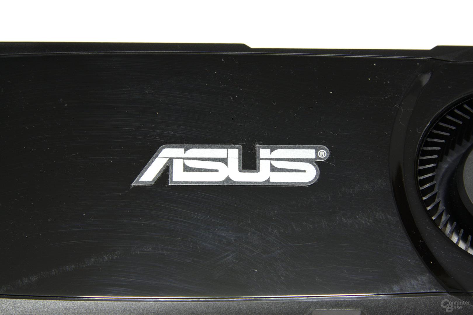 GeForce GTX 580 Schriftzug