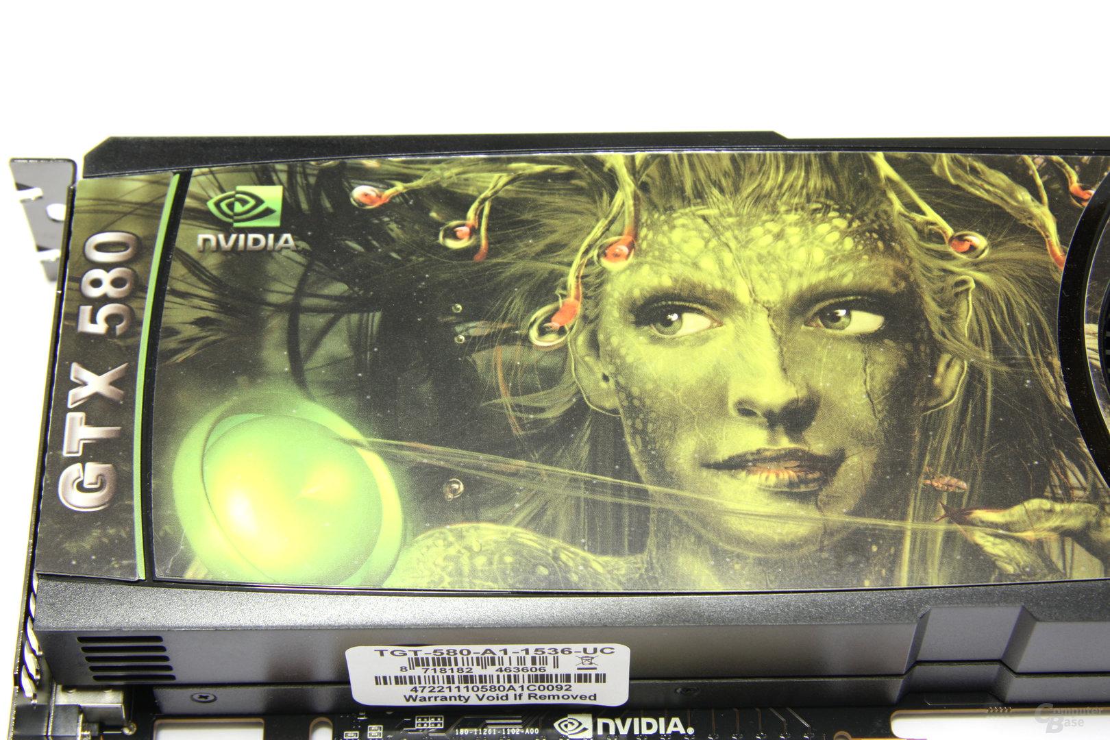 GeForce GTX 580 Ultra Charged Logo