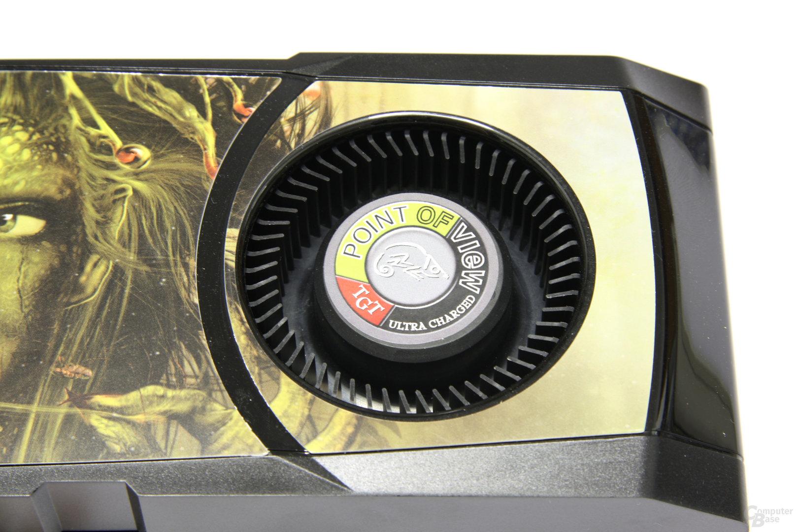 GeForce GTX 580 Ultra Charged Lüfter