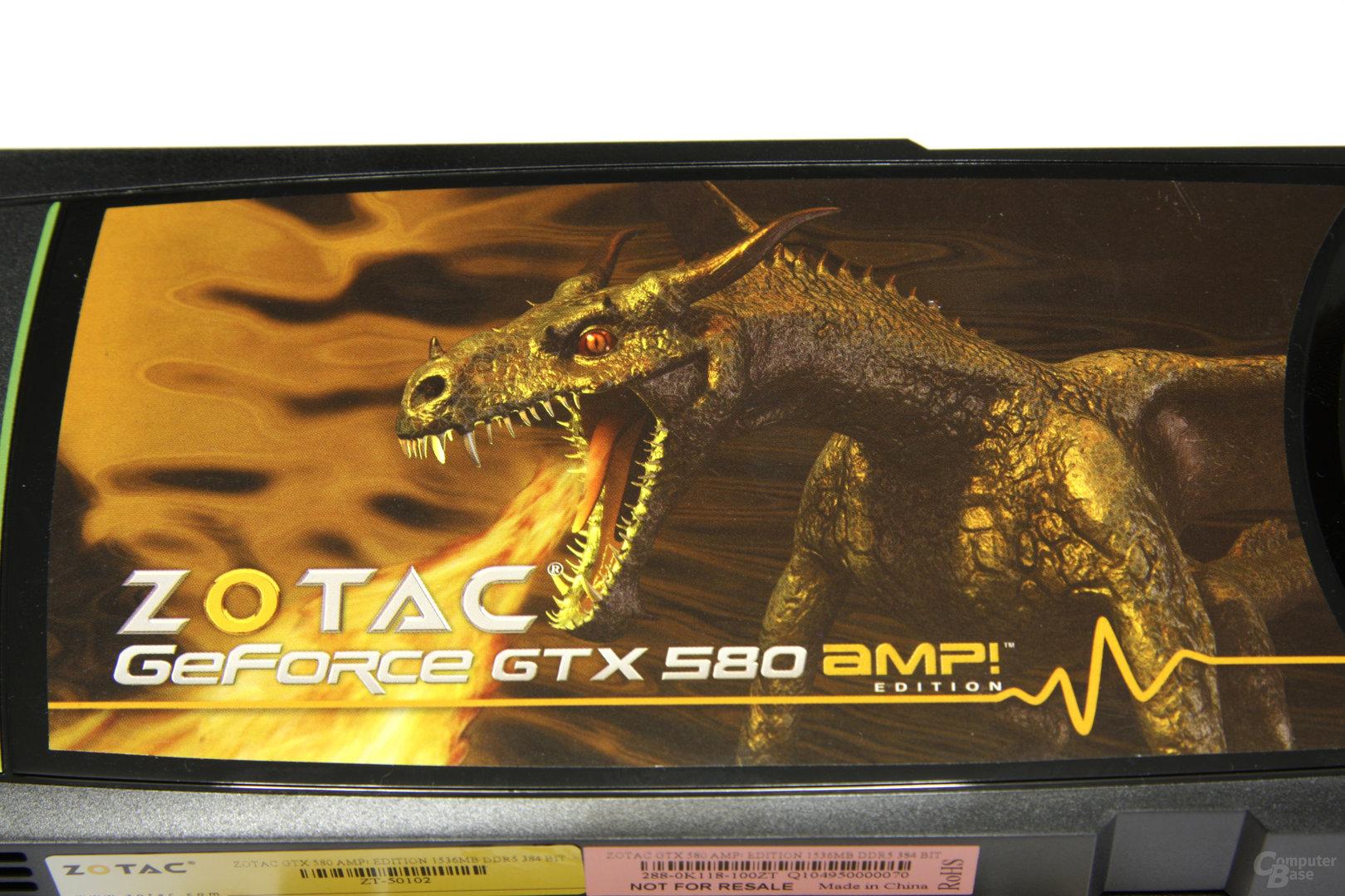 GeForce GTX 580 AMP! Logo