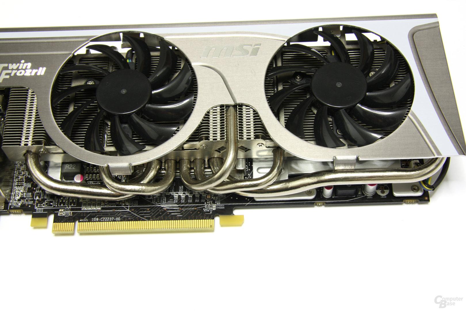 Radeon HD 6870 Twin Frozr II Kühler
