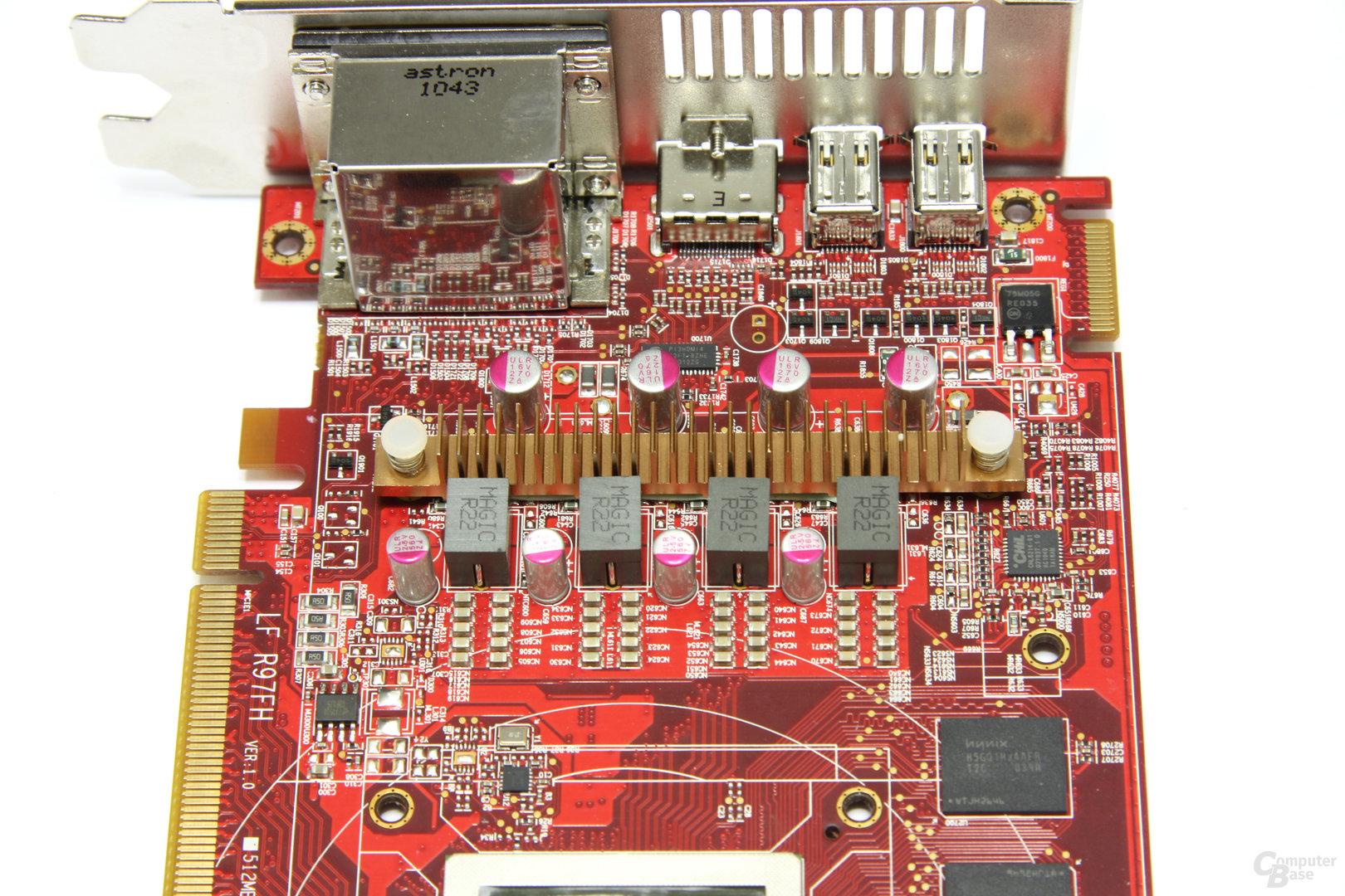 Radeon HD 6870 PCS+ Stromversorgung