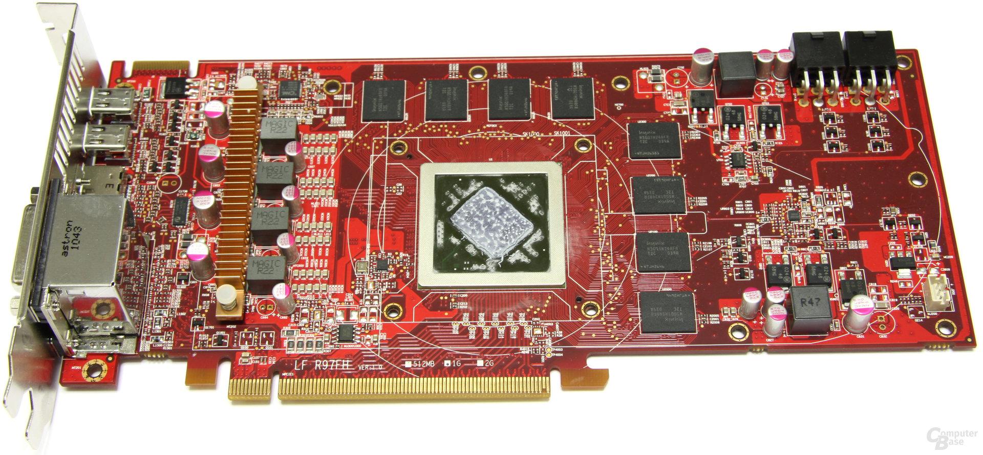 Radeon HD 6870 PCS+ ohne Kühler