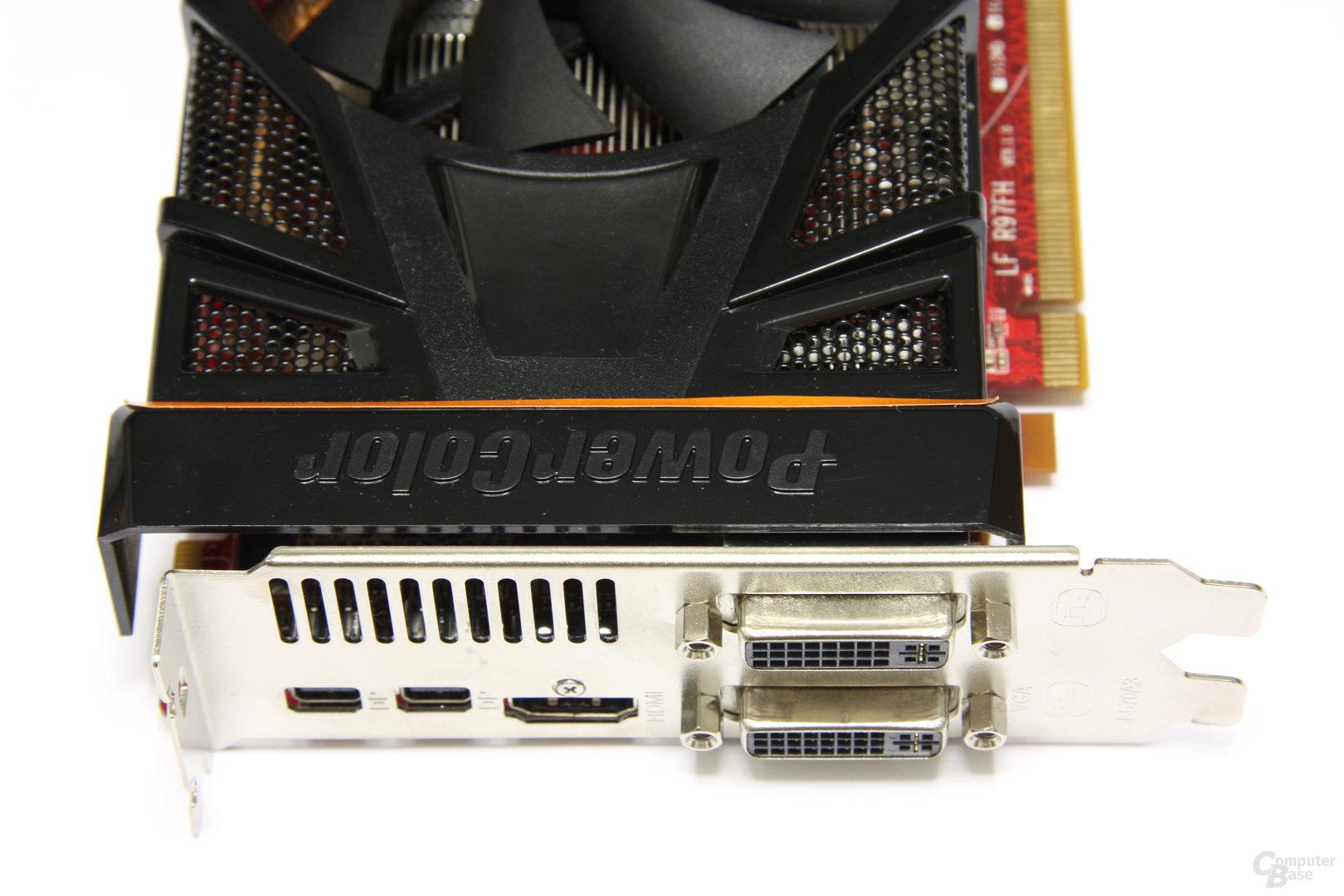 Radeon HD 6870 PCS+ Anschlüsse