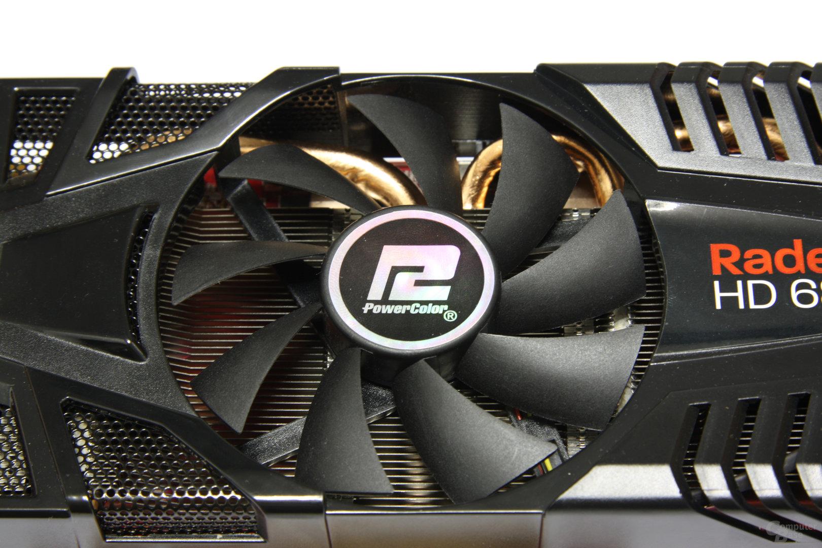 Radeon HD 6870 PCS+ Lüfter