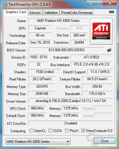 HD 6950 @ HD 6970 BIOS