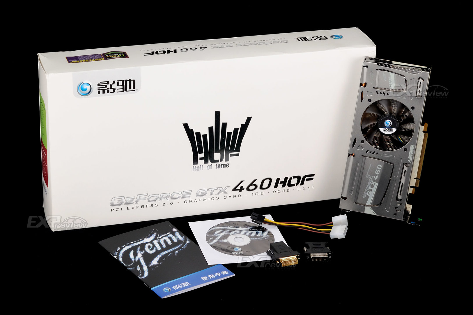 Galaxy GeForce GTX 460 HOF (Hall of Fame)
