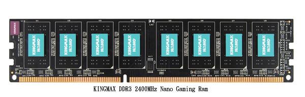 "Kingmax DDR3-2.400 ""Nano Gaming RAM"""