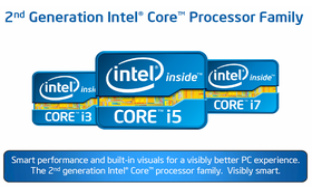 Logos der neuen Prozessoren
