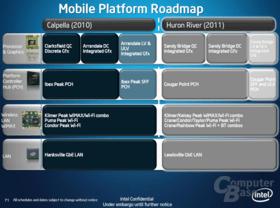 Unterschiede der Vorgänger- und Nachfolge-Plattform