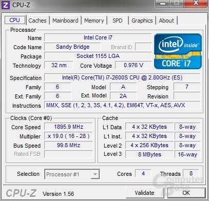 Intel Core i7-2600S