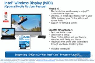 Intel Wireless Display (WiDi)