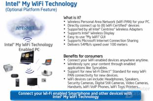 Intel My WiFi Technology