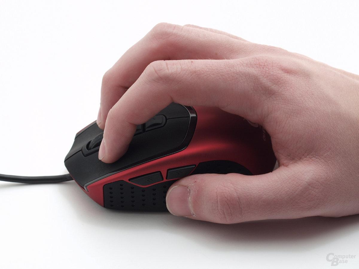 Claw-Grip-User werden jedoch ihre Freude haben