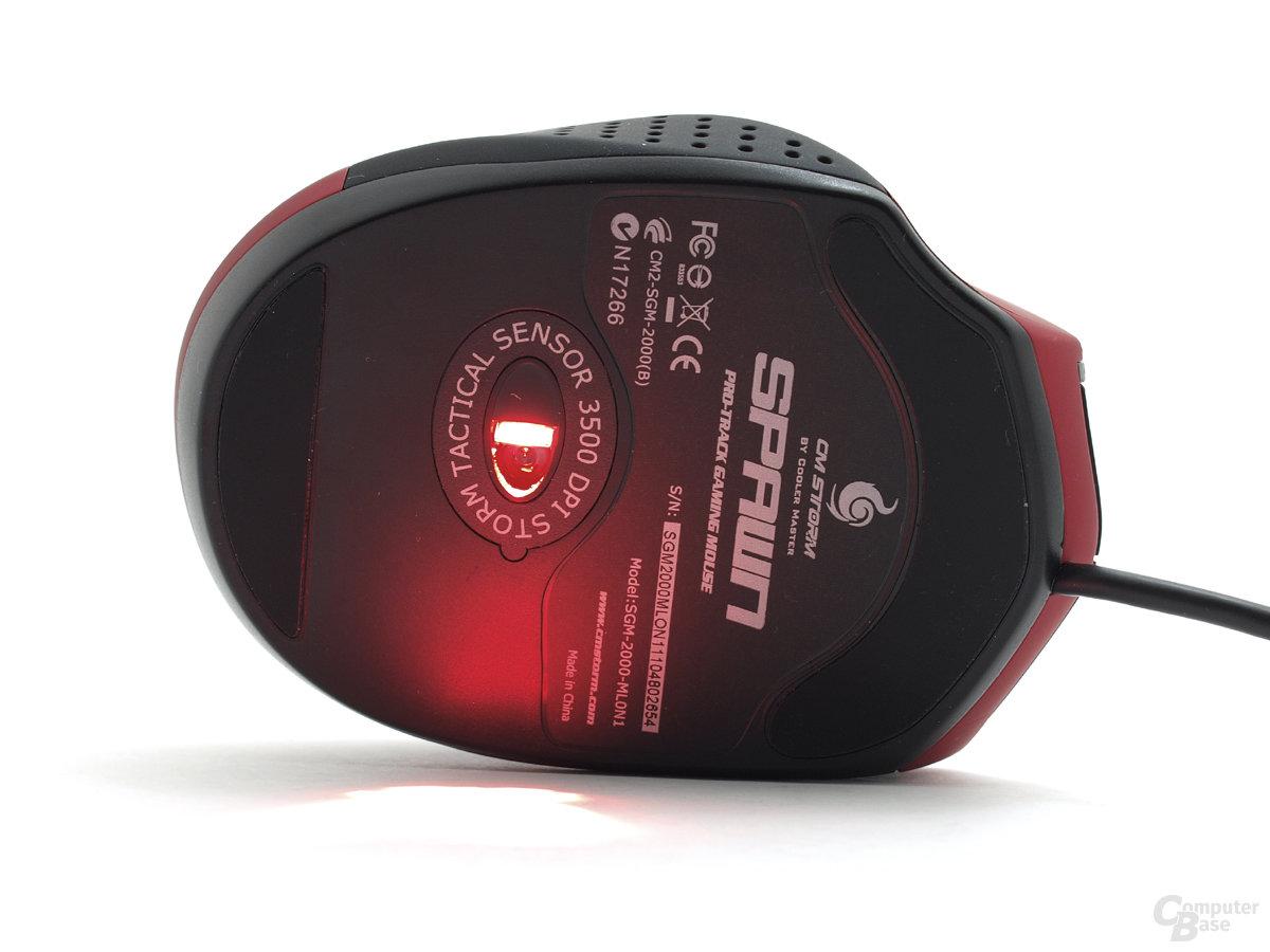 LED-Abtastung gewährt hohe Untergrundkompatibilität