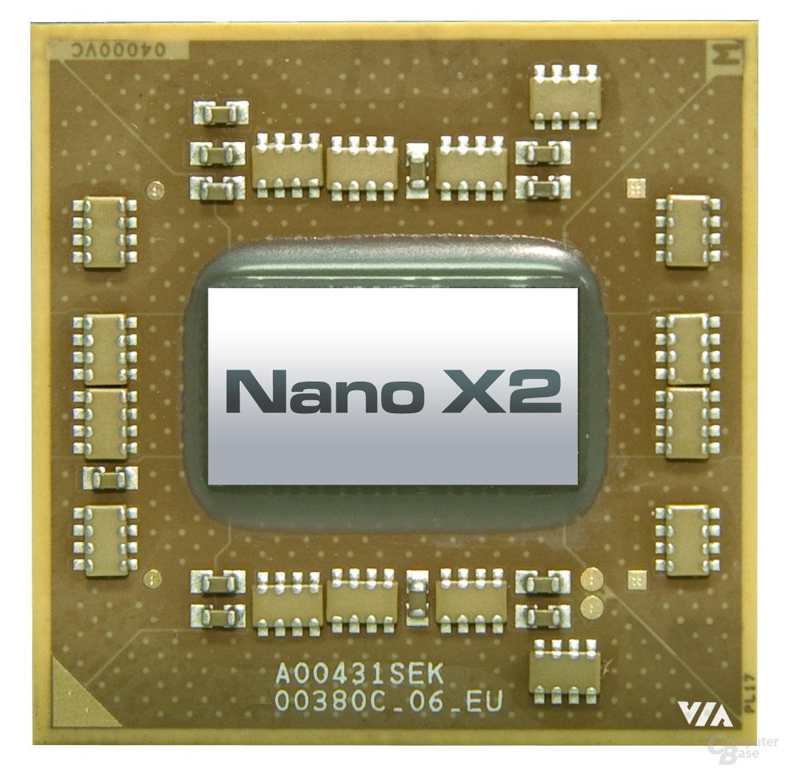 VIAs Dual-Core-CPU Nano X2