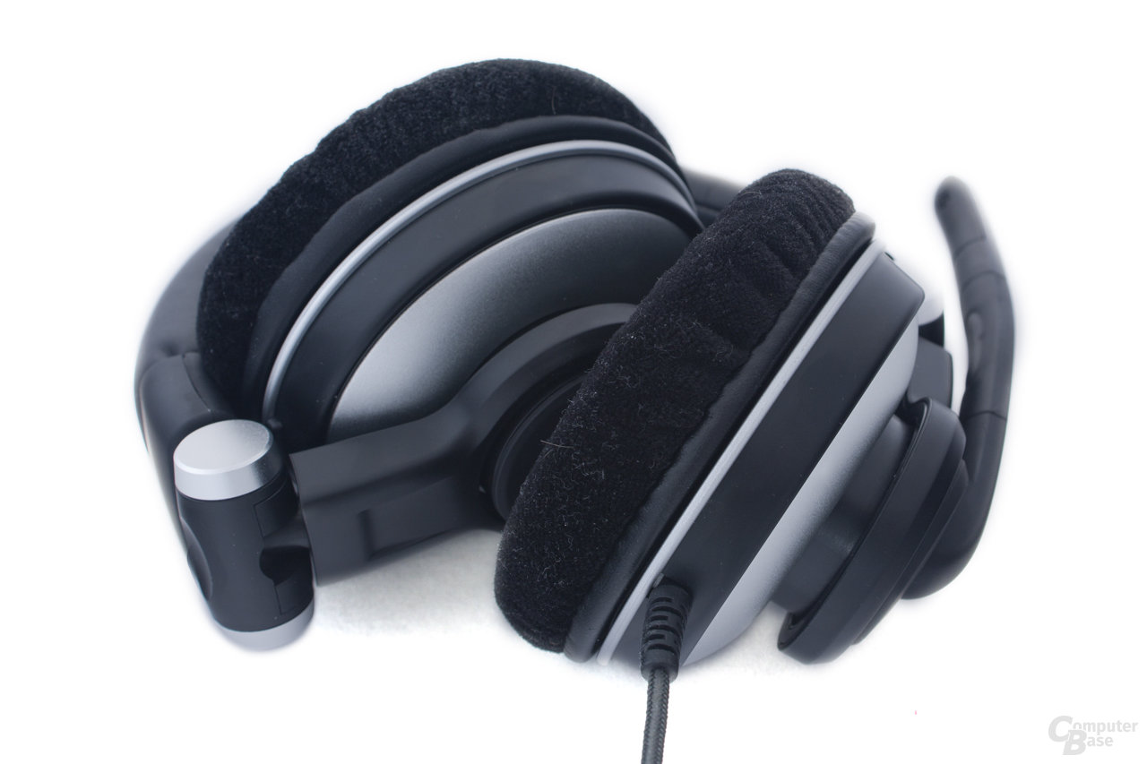 Das Headset ist zusammenfaltbar