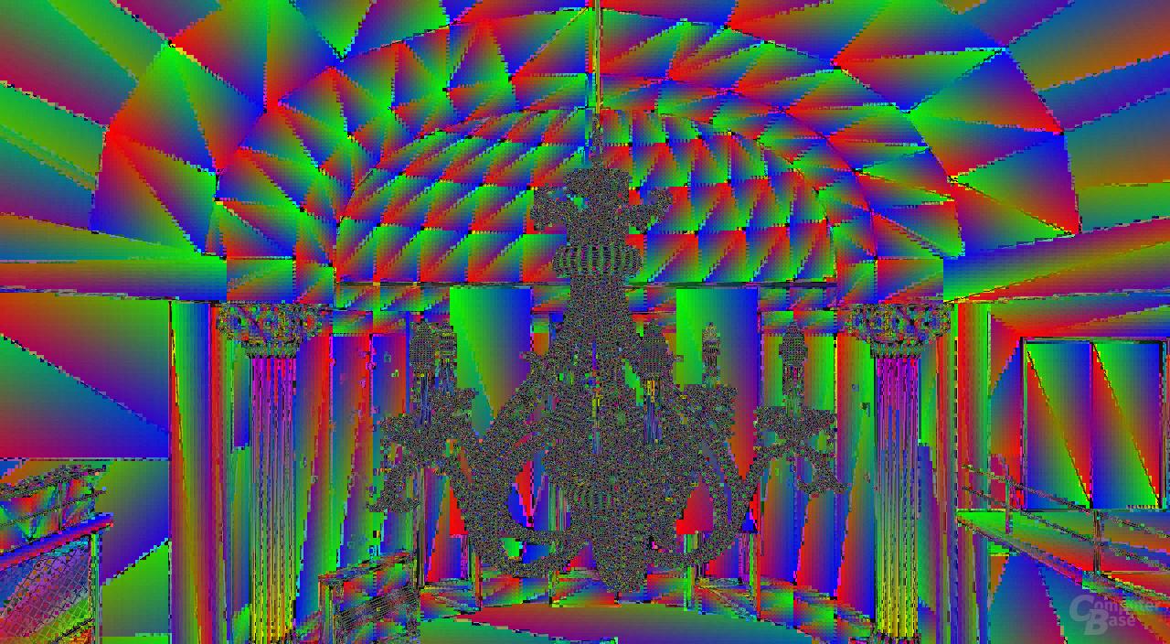 Bild komprimiert mit DXT1