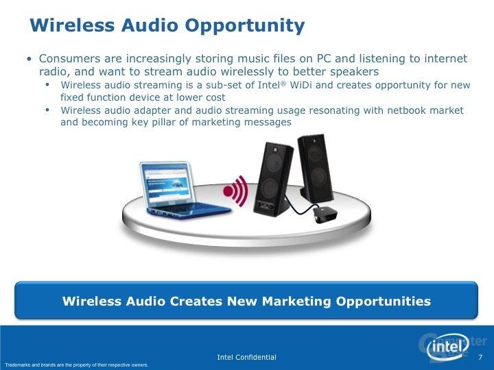Intel Wireless Audio