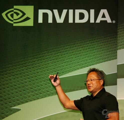 Nvidias CEO Jen-Hsun Huang