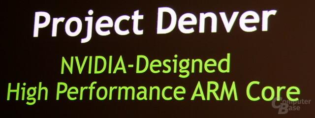 Nvidias Project Denver