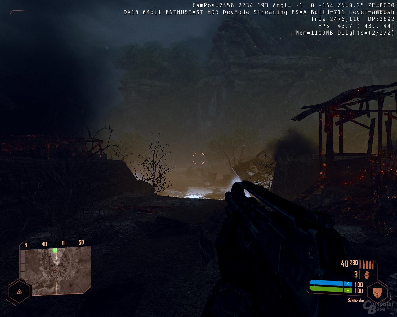 Nvidia GF110 - Crysis Warhead