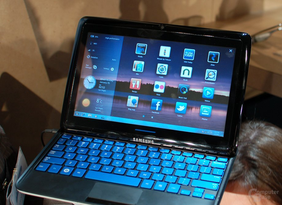 Samsung Sliding PC 7