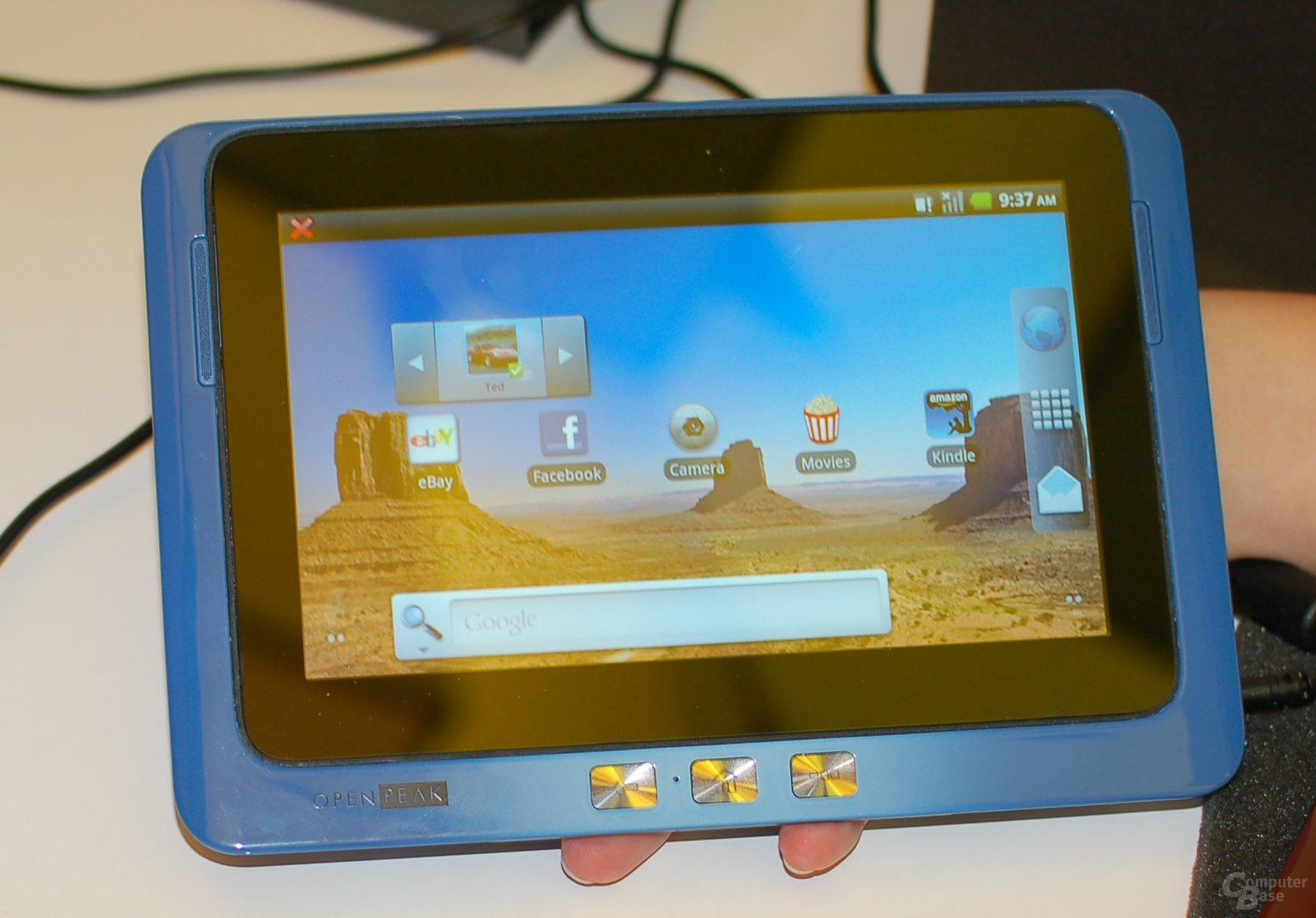 CES 2011: Moorestown-Tablet am Intel-Stand
