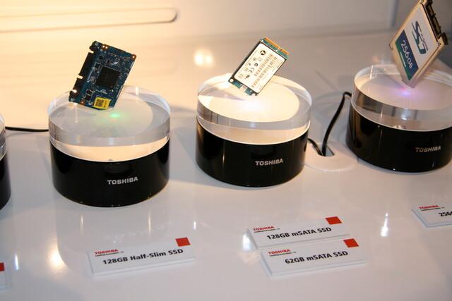 SSDs in kleiner Größe von Toshiba