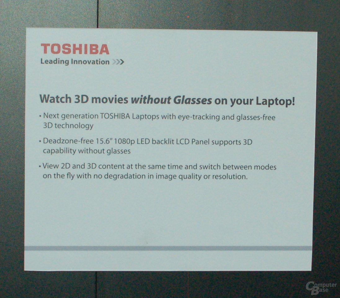 Laptop mit Eye-Tracking