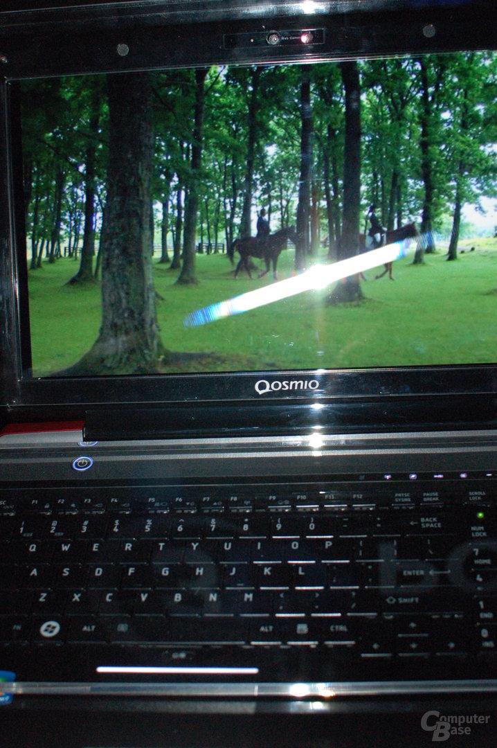 Laptop mit Augenerkennung
