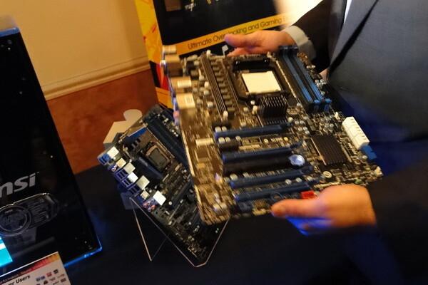 MSI 990FX-Mainboard mit Sockel AM3+