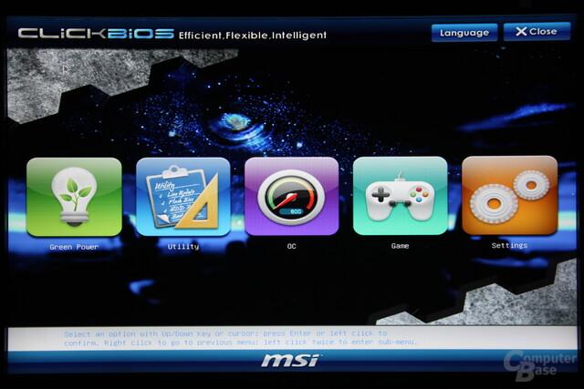 MSI H67MA-E45 UEFI