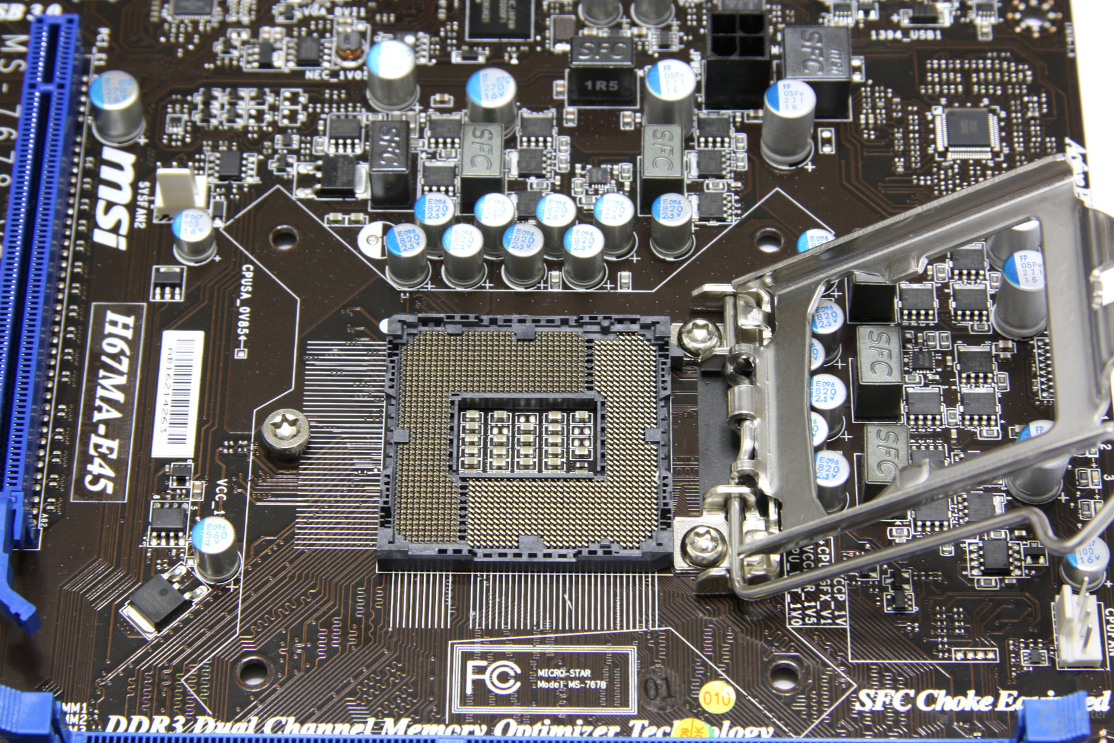 H67MA-E45 CPU-Sockel 2