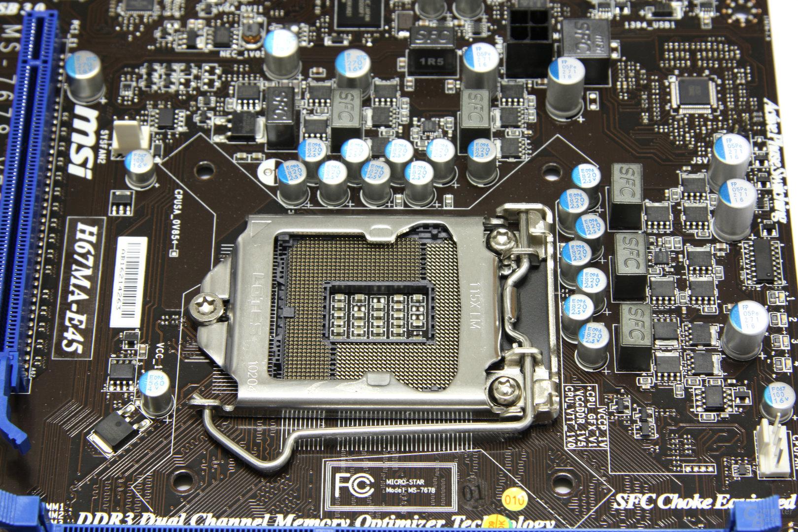 H67MA-E45 CPU-Sockel 3
