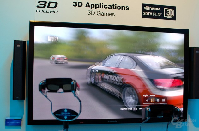 103 Zoll großer 3D-Plasma von Panasonic