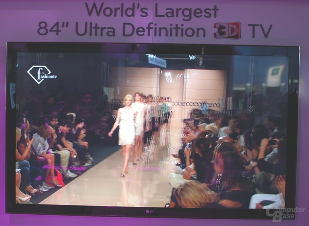 84 Zoll Ultra Definition 3D-TV