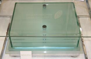 Gläserne Lautsprecher