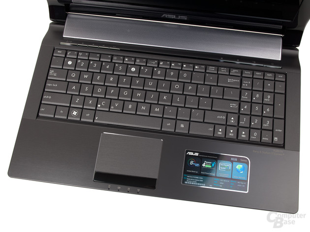 Asus N53SV: Tastatur