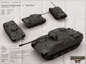 Panzer Crops: Konzeptzeichnung
