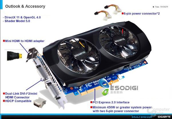 Gigabyte GTX 560 Ti OC
