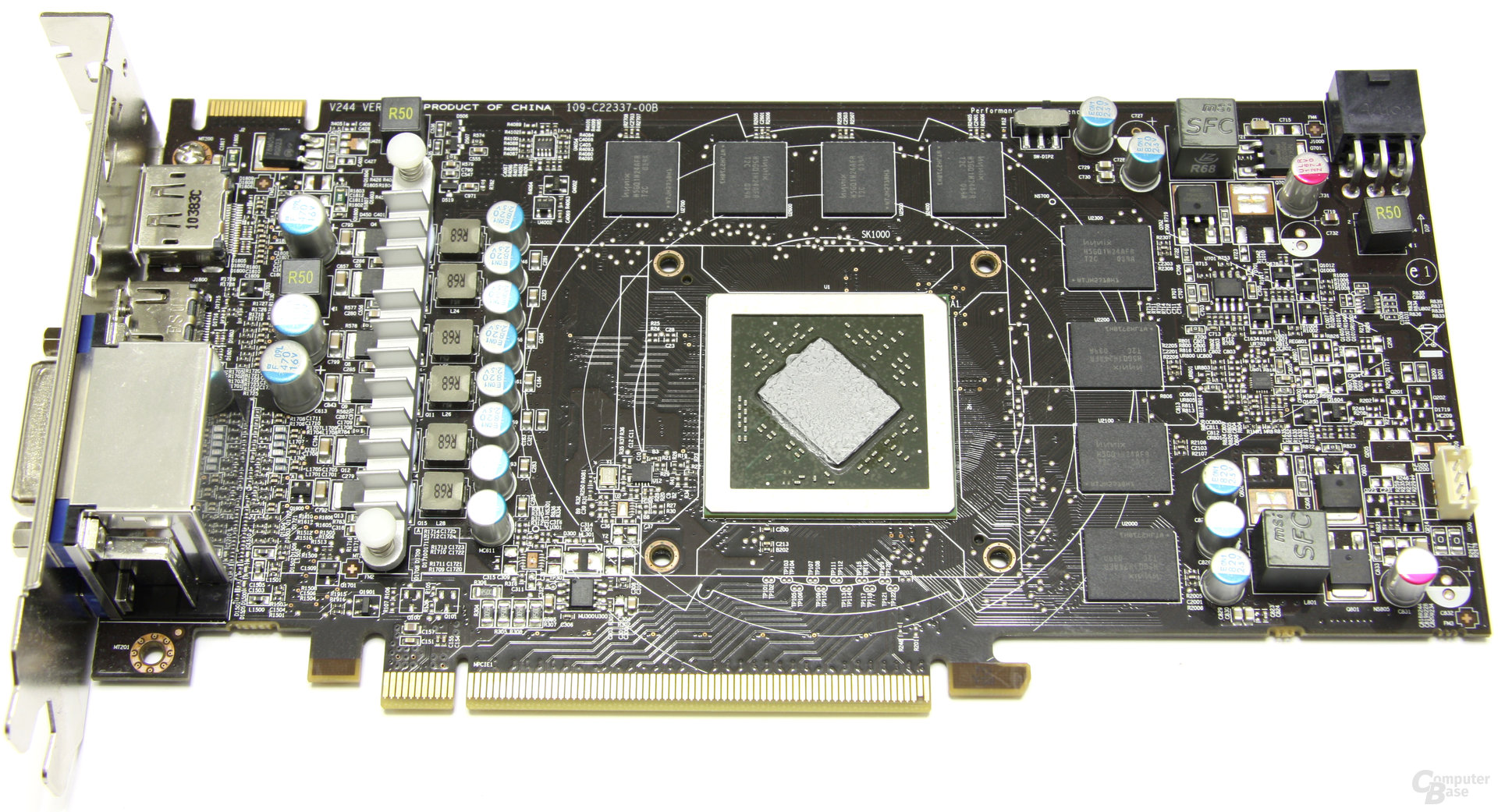 Radeon HD 6850 Power Edition OC ohne Kühler