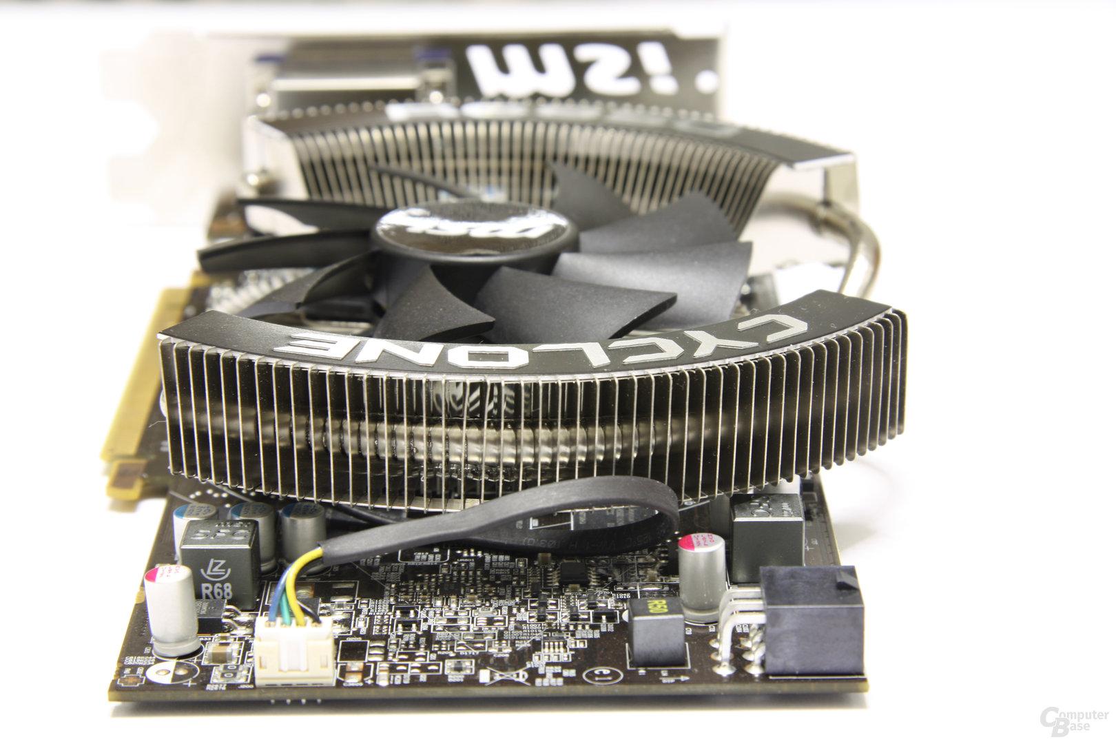 Radeon HD 6850 Power Edition OC von hinten